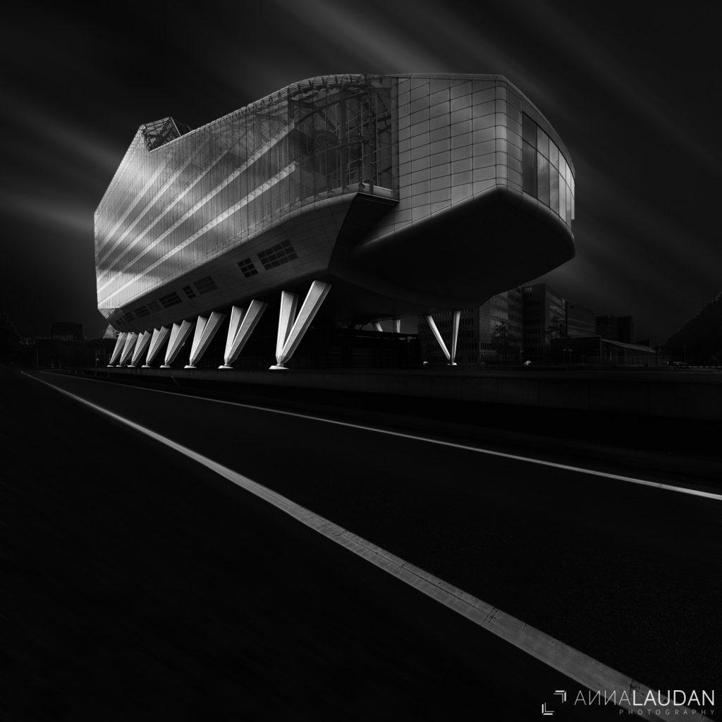 Monolith, ING house, architektur, amsterdam