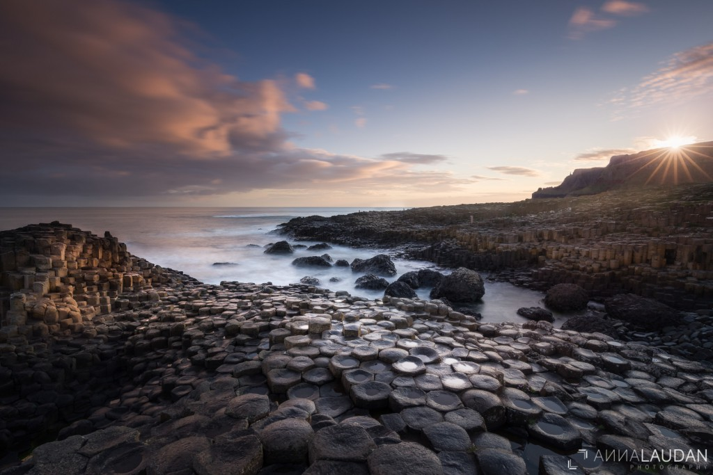 Sunrise at the Giant's Causeway