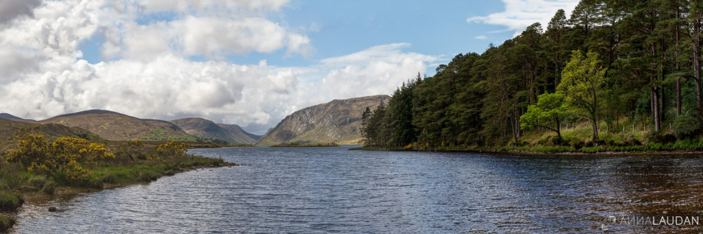 Glenveagh National Park Panorama