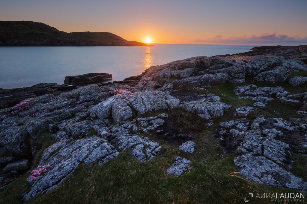 Sunset at Melmore Head I