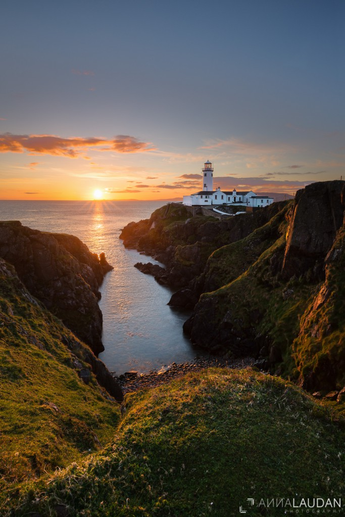 Sunrise the the Fanad Head Lighthouse