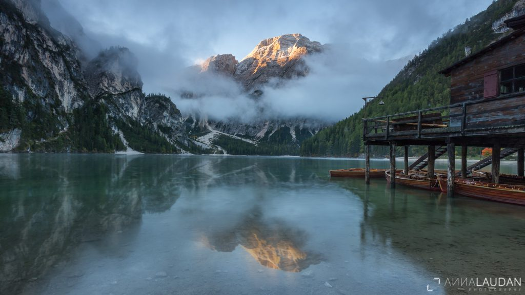 Pragser Wildsee, Dolomiten, Südtirol,